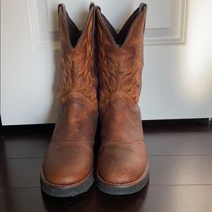 NWOT Justin's Leather boots